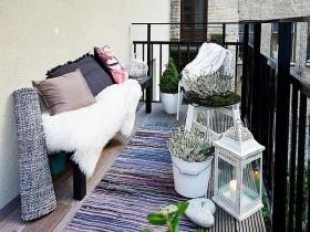 阳台装修效果图 阳台装饰效果图