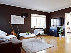 复式楼现代客厅装修样板房