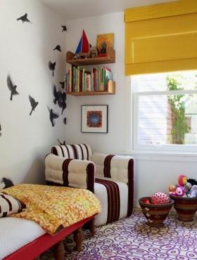 田园风格别墅客厅背景墙装修效果图大全