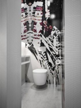 300平米现代别墅卫生间瓷砖效果图欣赏
