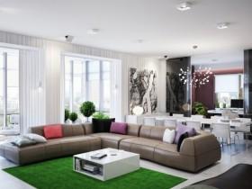 300平米别墅客厅装修效果图欣赏