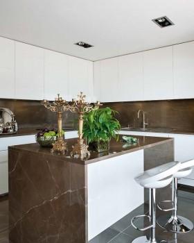复式楼现代风格厨房装修效果图大全