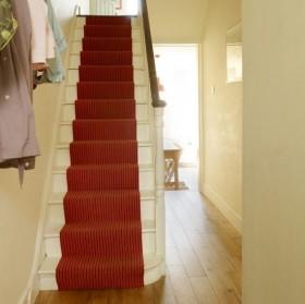 法式田园风格楼梯地毯图片