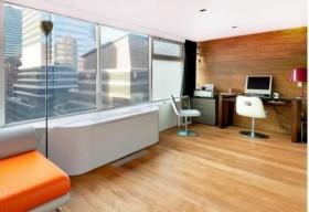 空旷明朗的现代书房装修效果图大全2012图片