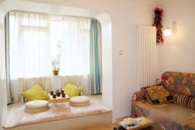 6万打造70平米田园家居客厅窗帘饰品