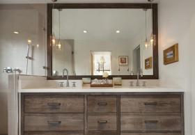 三室两厅简欧风格卫生间装修效果图大全