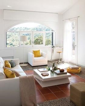 现代简约家居客厅装修效果图大全