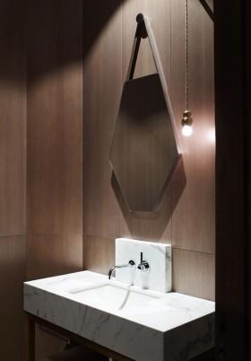 300平农村别墅卫生间装修设计效果图大全