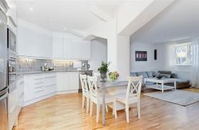 69平米小户型瑞典北欧单身公寓餐厅装修效果图大全