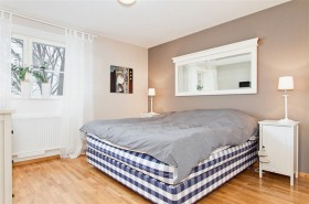 69平米小户型瑞典北欧单身公寓卧室装修效果图大全
