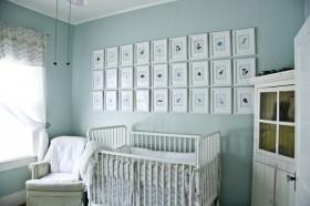 78平米小户型淡蓝色调儿童房装修效果图大全