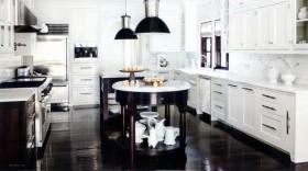 12万打造纯白欧式风格厨房橱柜装修效果图大全