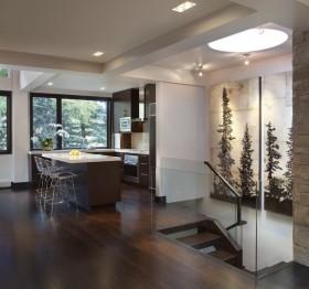 34萬打造溫馨舒適現代風格餐廳裝修效果圖大全