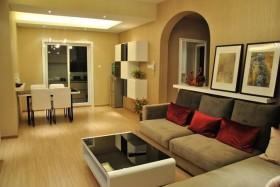 105平小三居客厅装修效果图大全