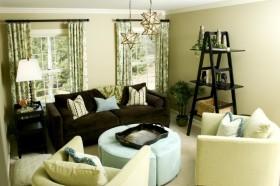 7万打造田园风格客厅装修效果图感受大自然的气息