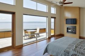 28万打造经典简约风格卧室飘窗装修效果图大全