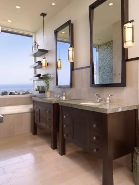 现代风格卫生间二居装修效果图大全