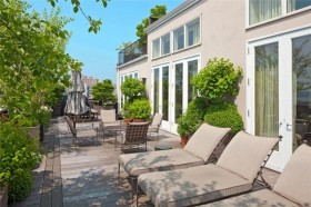 北欧清新的复式楼休闲阳台打造一个温馨的家