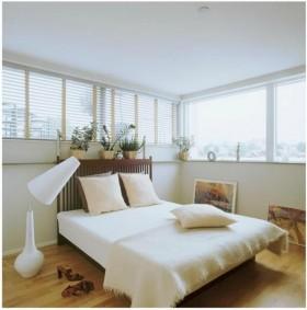 别墅图片大全 轻盈自然的卧室装修效果图