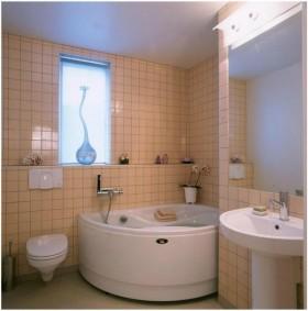 别墅图片大全 卫生间装修效果图、细节成就完美
