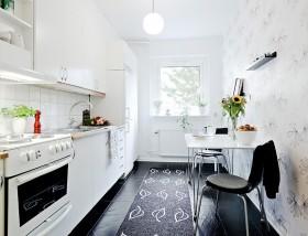 45平方米小户型厨房橱柜装修效果图大全