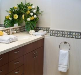 17万打造华丽美式风格卫生间装修效果图大全