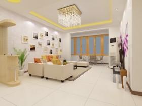 两室一厅客厅沙发照片墙装修效果图 两室一厅装修图