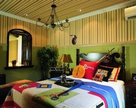松山湖花园东南亚风格儿童房装修效果图