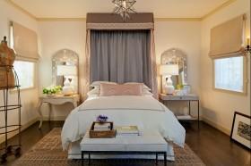 20万打造大自然气息北欧卧室窗帘装修效果图大全
