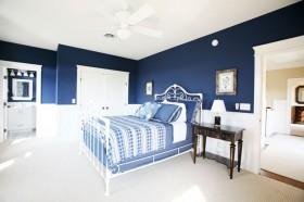 浪漫地中海风情小三居卧室装修效果图大全