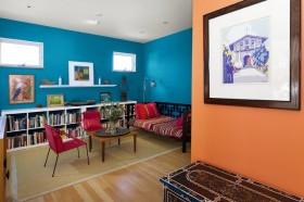 浪漫地中海风情小三居客厅装修效果图大全