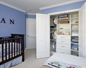 17万打造90平地中海风格宝宝儿童房装修图片