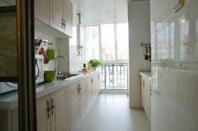 幸福遇见、简约小户型厨房橱柜装修效果图
