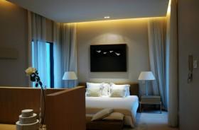 170万打造宜家中式风格卧室吊顶装修效果图大全2012图片
