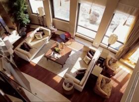 30万打造奢华中式风格客厅装修效果图大全