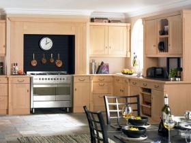 复式楼地中海风格厨房橱柜装修效果图大全