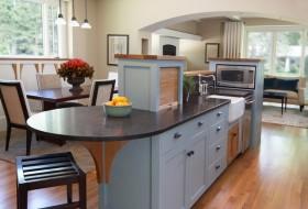 乡村别墅厨房装修橱柜效果图大全2012图片