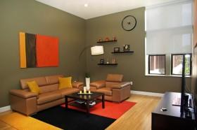 60平米小户型客厅沙发装修效果图