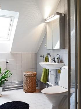 50平方米小户型公寓 卫生间装修效果图