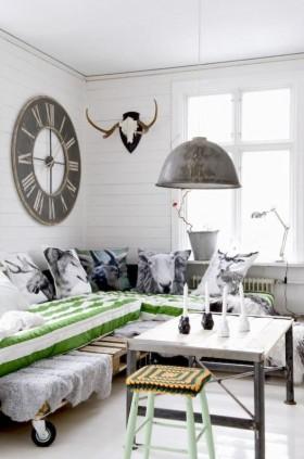 14万打造纯白欧式风格二居客厅装修效果图大全
