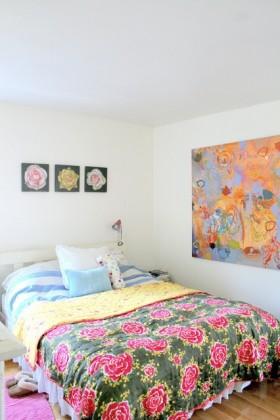 60平小户型田园风格卧室装修效果图大全