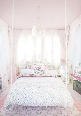6万打造奢华浪漫田园风格卧室装修效果图大全