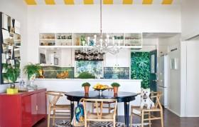 家庭餐厅橱柜装修效果图 温馨宜人