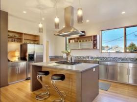 18万打造北欧风格厨房橱柜装修效果图大全