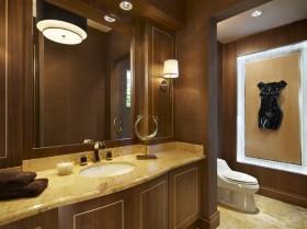 卫生间装修效果图 中式风格装修图片