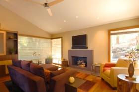 15万打造豪华中式风格客厅电视背景墙四居装修效果图大全