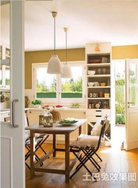 欧式风格餐厅厨房设计