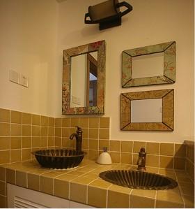 田园风格二室一厅卫生间装修效果图