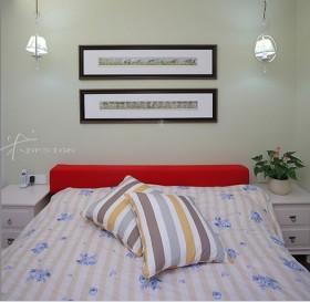 三室两厅田园风格温馨的卧室装修效果图