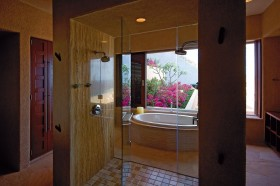 奢华浪漫的欧式别墅卫生间装修效果图大全